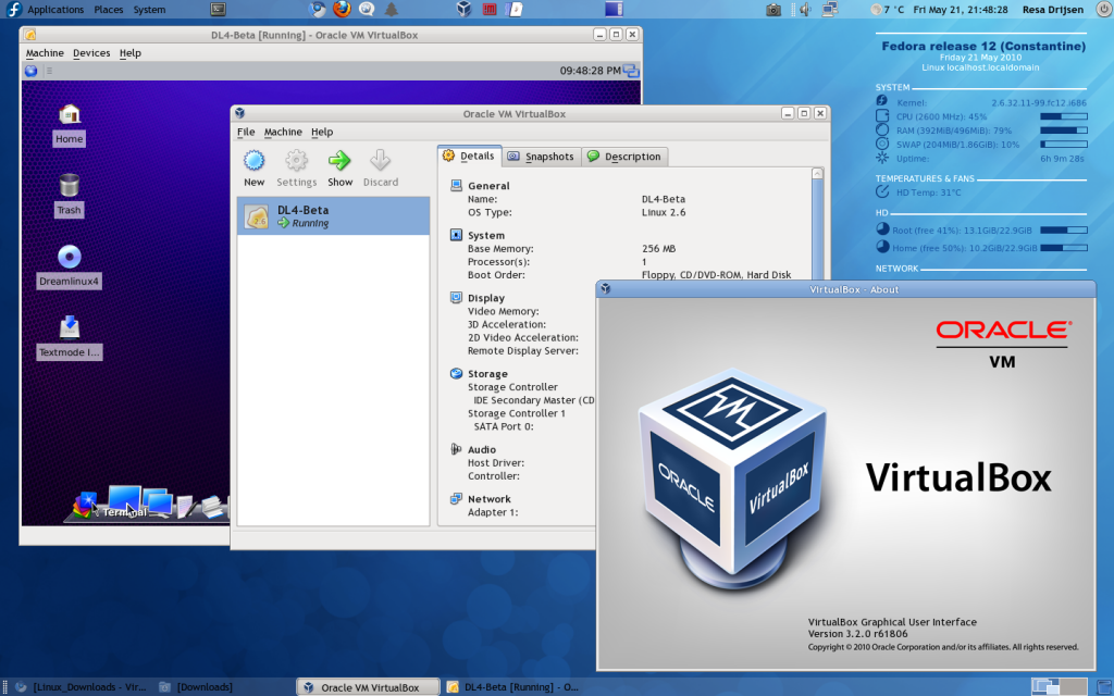 fedora12_oraclevmvirtualbox1