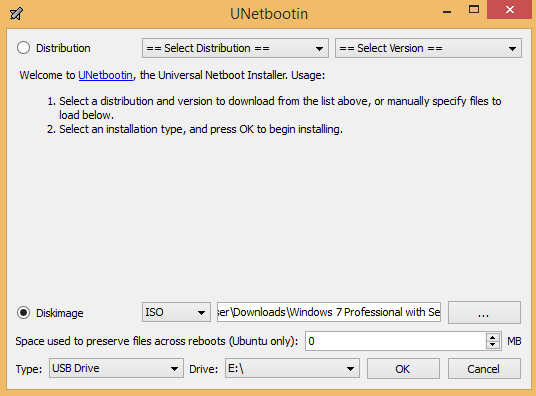 UNetbootin_Windows_Install
