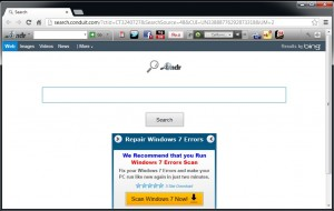 This is a browser infected with adware, notice the toolbars and homepage ads.