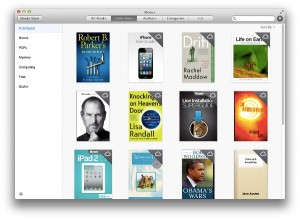 iBooks can be used to sync your literature across all of your platforms.