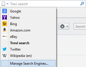 Firefox Change your Search Engine