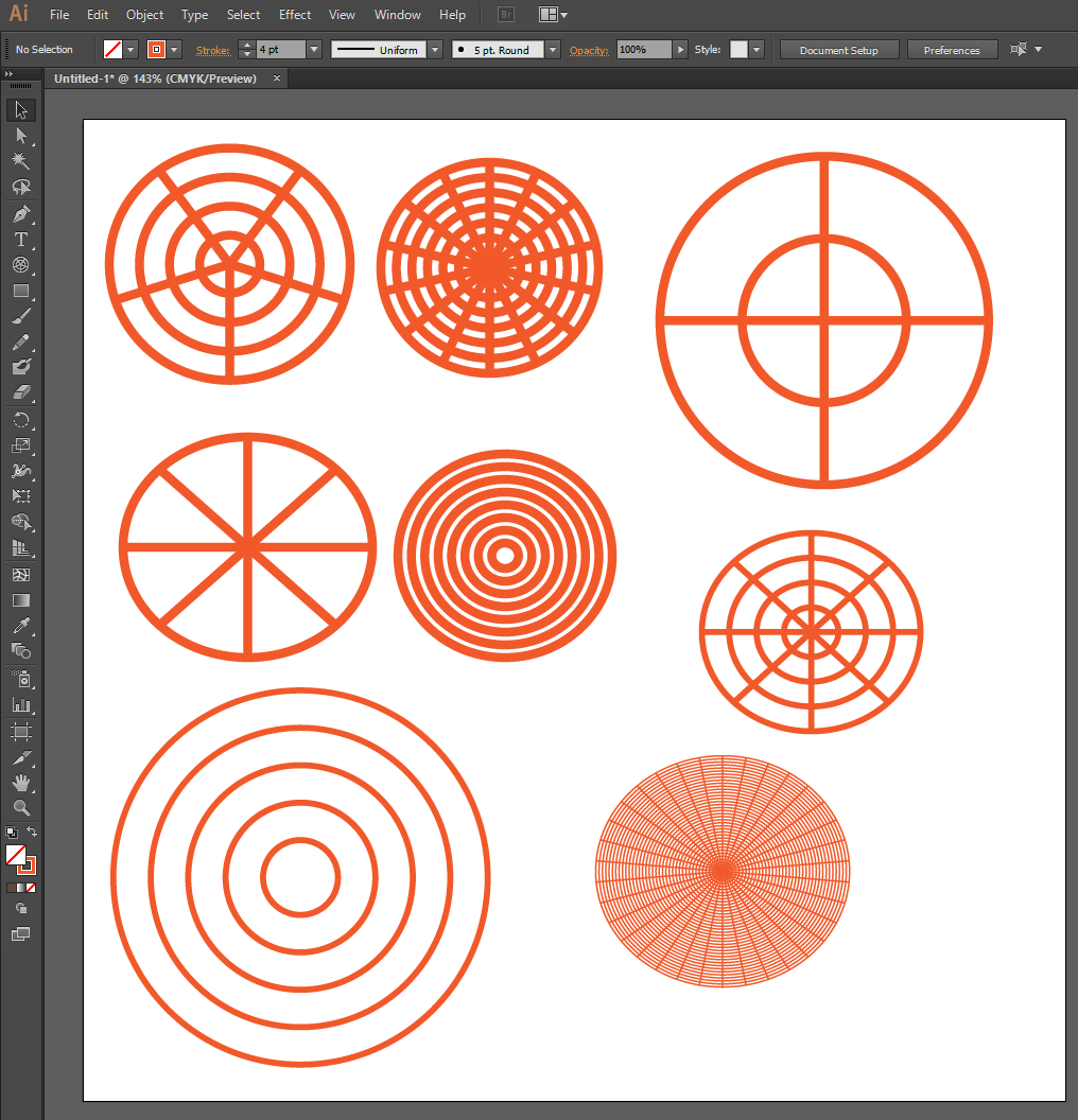 adobe illustrator how to cut a line