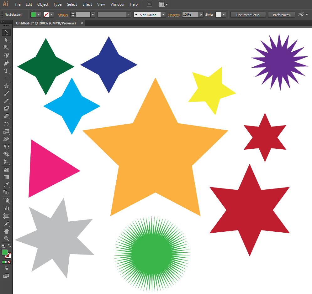 how to cut out of shapes in illustrator