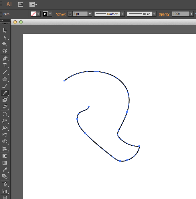 Adobe Illustrator Basics – Pencil Tool   Techbytes