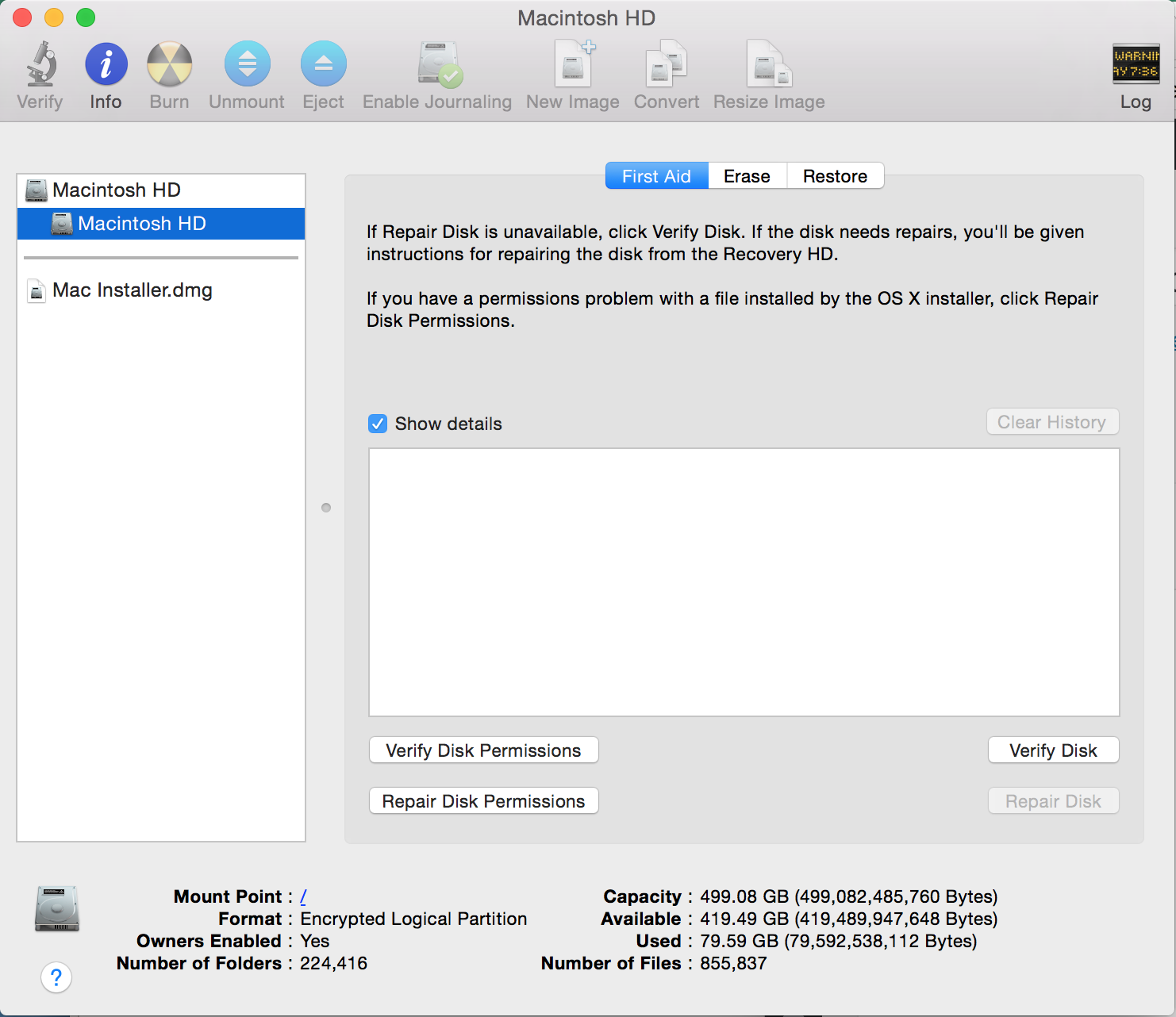 Using Disk Utility for OS X | Techbytes