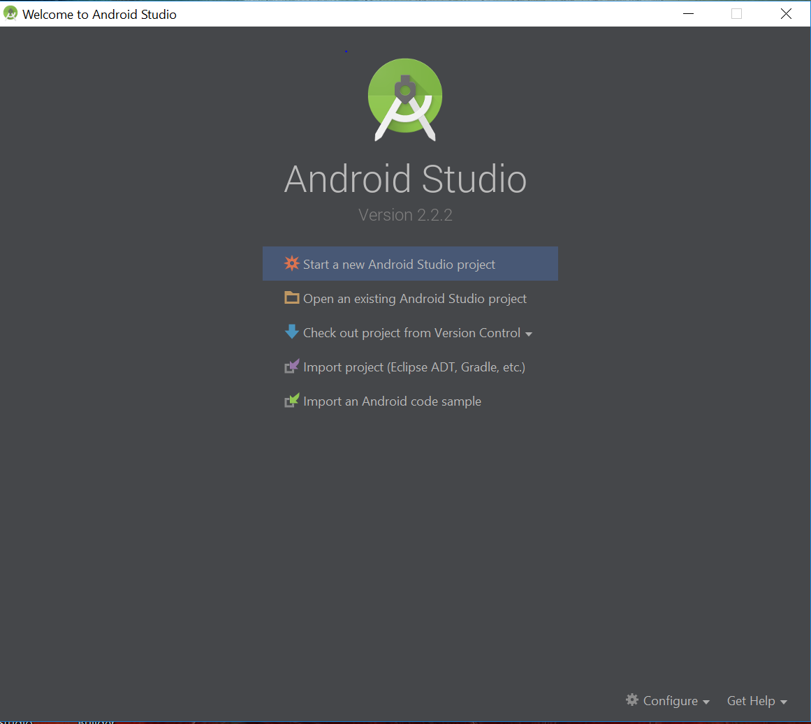 getting started with android studio techbytes