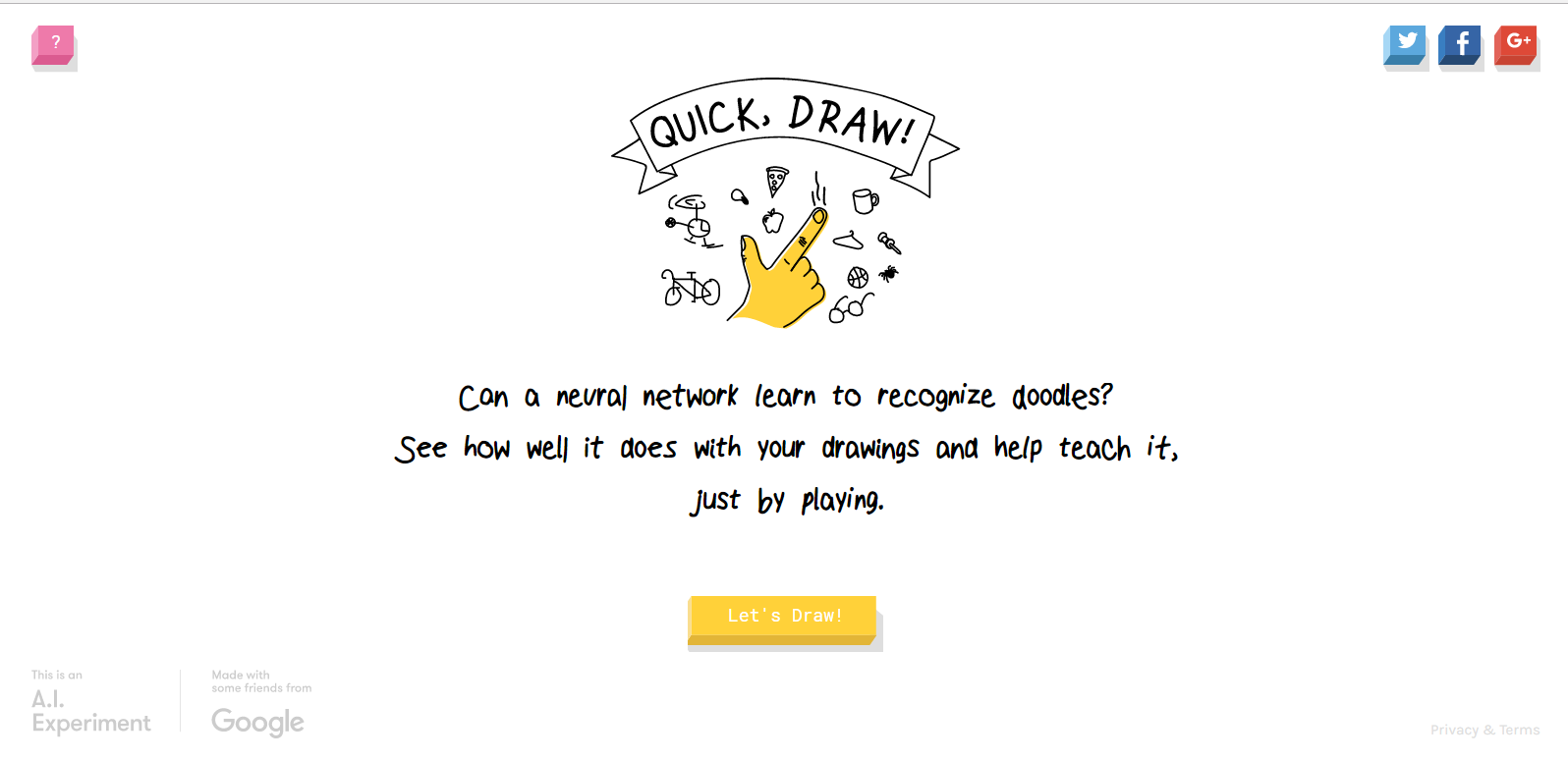 Good at Pictionary? Try Quick, Draw!, from Google! | Techbytes | 1596 x 774 png 61kB