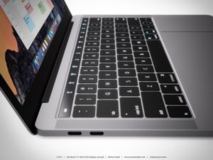 The new Macbook Pro w/ USB-C ports