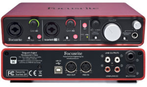 Two channel USB audio interface.