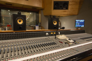 Studio monitors at Electrical Audio Studios, Chicago