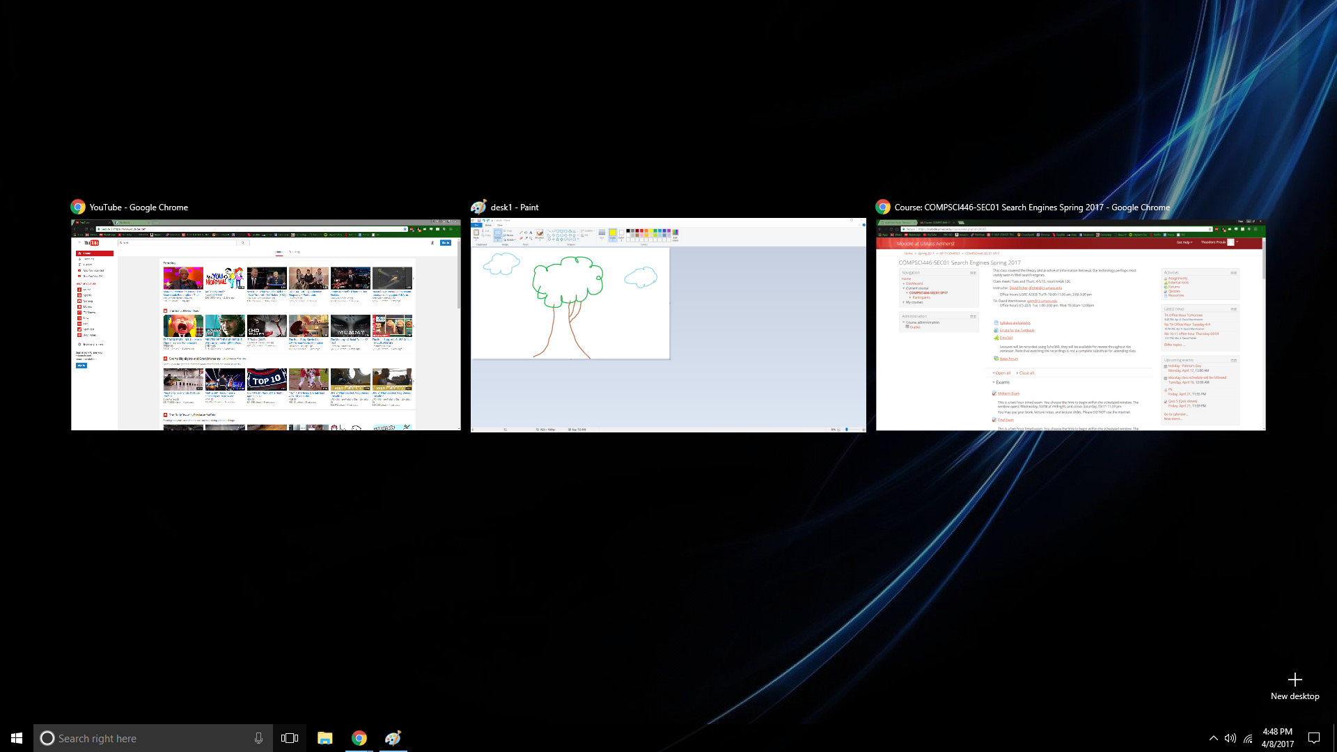Multiple Desktops in Windows 10 | Techbytes