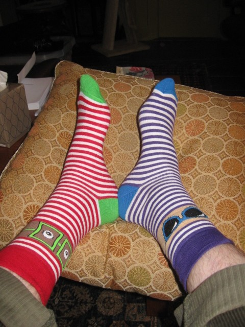 picture of odd socks