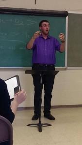 Dan Fleury, graduate conductor
