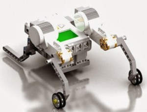 Student Computer 3-D Model of Robot