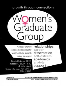 Fall 2013 Women's Graduate Group