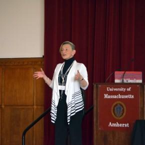 Keynote speaker Dr. Judy Giordan