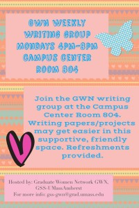 GWN Writing Group Flyer