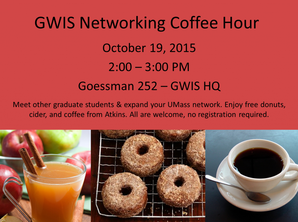 Coffee Hour 10-19-15