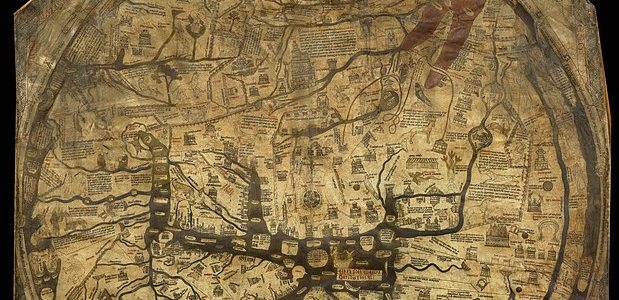 "Medieval map shows changing concept of people, cultures and ""races"""