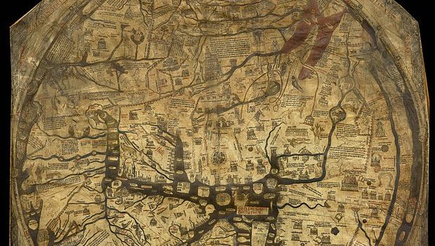 """Medieval map shows changing concept of people, cultures and """"races"""""""