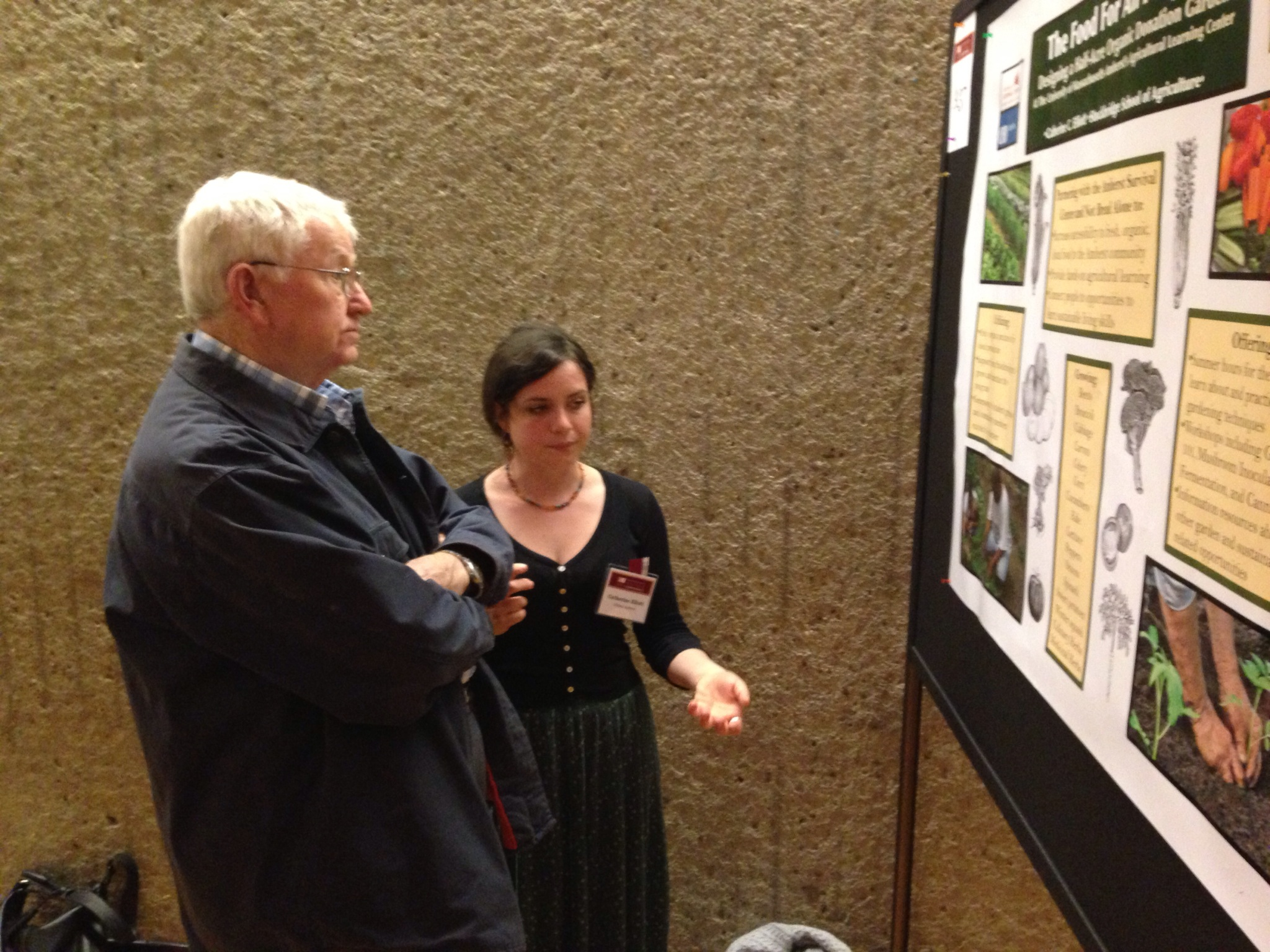 Dr. Barker comes to the Research Conference every year!