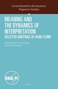 Edited by Klaus von Heusinger & Alice ter Meulen