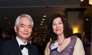 Jane Fountain, NCDG Director, with Hirokazu Okumura, Tokyo University and former NCDG Fellow, at the Federal 100 Awards Gala