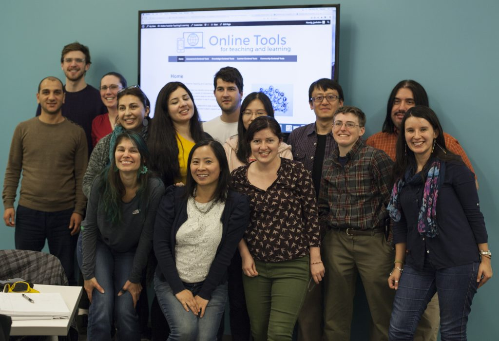 Group Picture of Online Tool Reviewers