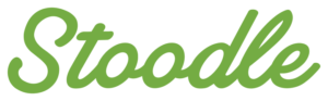 Stoodle logo written in green letters.