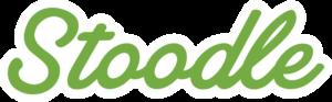 Stoodle logo written in green letters.