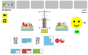 Fractions Simulation