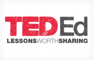 "TED Ed Logo with tag line ""Lessons Worth Sharing."""