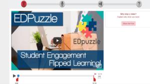 Screenshot of EdPuzzle