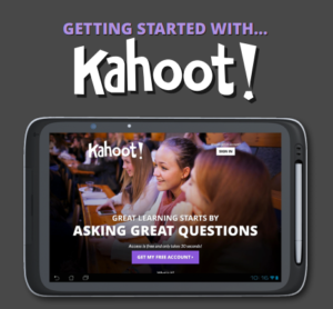 Screenshot1 Getting started with Kahoot