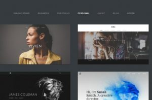 Weebly select a theme