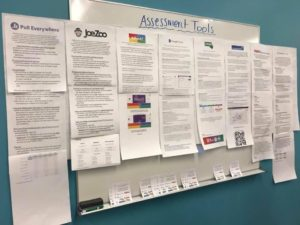 Assessment tools poster