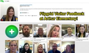 Flipgrid screenshot with a grid of educators' pictures