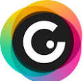 Genial.ly logo - a white G on a black circular background with colors around the outside.