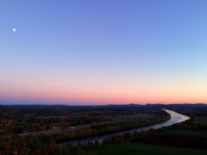 Connecticut River from Mt. Sugarloaf