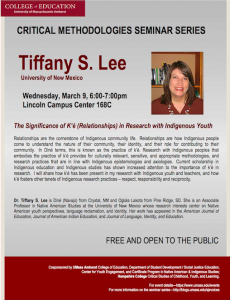 Lee lecture flyer