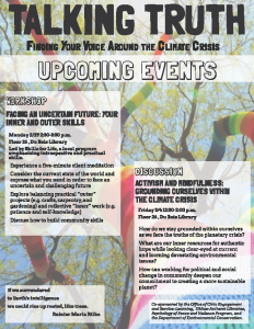 Talking Truth Spring 16 1st 2 events
