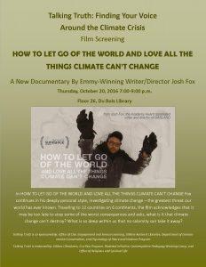 Talking Truth film screening 10-20