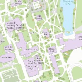 Map using HP5 from UMass ArcGIS Online