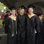 2016 Graduation  Lucey-Romanov-Nord
