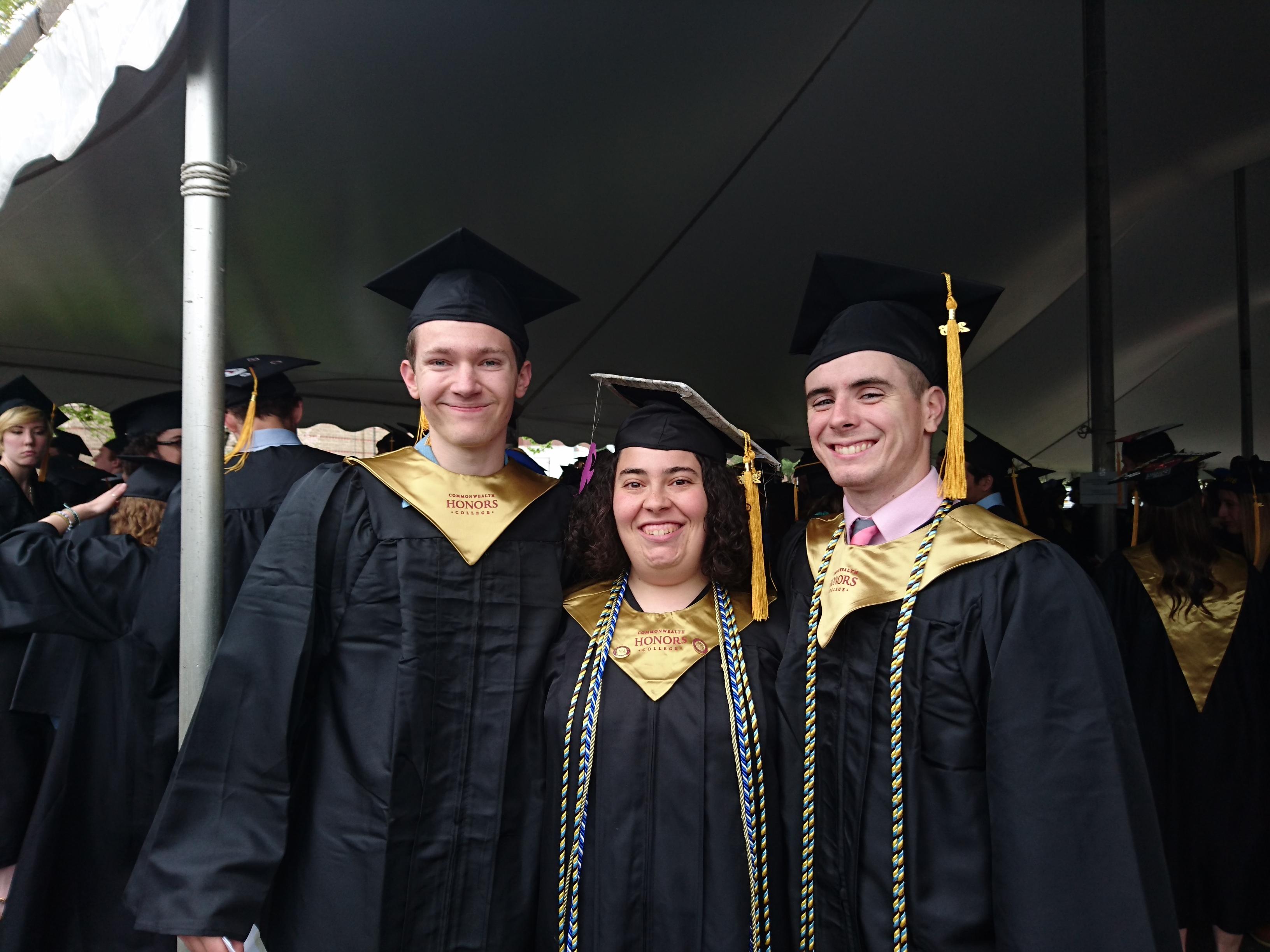 2016 Graduation Nord-Weinstein-Lucey