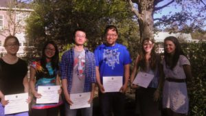 2012 geography dept award winners