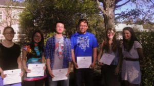 2012 geography dept award winners
