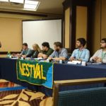 2016 Geography Bowl Julian HR second from right Tyler Maren on right