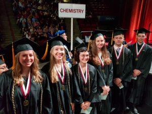 2019 Geography Graduates Howe-Rinaldi-Feidelson-Holland-McColly